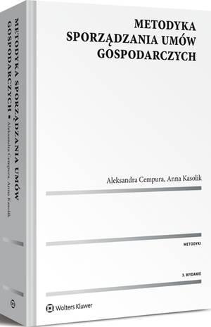 Książka: Metodyka sporządzania umów gospodarczych